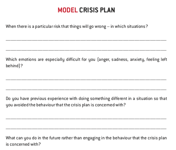 Exercises and models from the Mentalization Guidebook